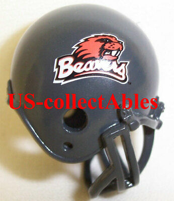 NCAA OREGON STATE UNIVERSITY BEAVER Football Helmet Keychain Rare Collectible  - Oregon State University Helmet