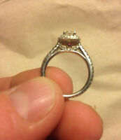 Micheal Hill Engagement ring for sale.