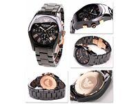 Emporio Armani AR1410 Ceramica Watch RRP £399.99