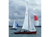 X one design racing yacht