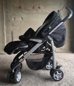 Silver Cross Pram, stroller and set