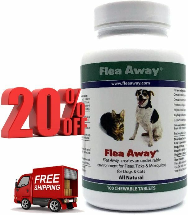 Flea Away All Natural Flea, Tick, and Mosquito Repellent for