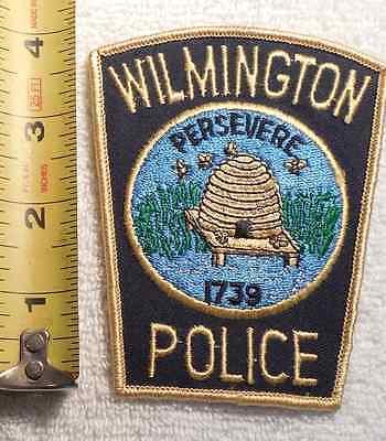 WILMINGTON NORTH CAROLINA POLICE PATCH (HIGHWAY PATROL, SHERIFF, STATE)
