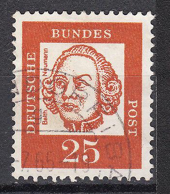 BRD 1961 Mi. Nr. 353 Fl. P. Gestempelt LUXUS!!!