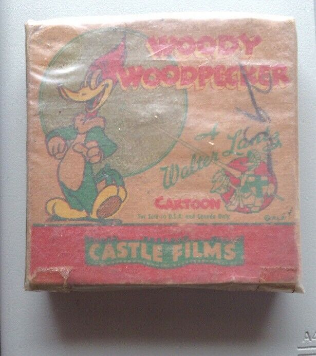 Woody Woodpecker Cartoon-Castle Films-The Dippy Diplomat-released Aug 27, 1945