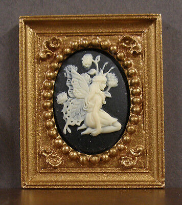 "HALF  SCALE ~  1/2""  scale ~  FRAMED  PICTURE ~ Dollhouse ~ 1/24 ~ or 1:12 scale"