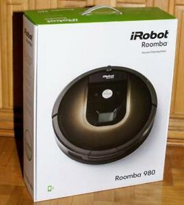 "i-Robot Roomba 980 - Brand New Sealed w/Full Warranty ""buy from a store"" Pay Cash & Save Taxes - We sell for 839.99 $"