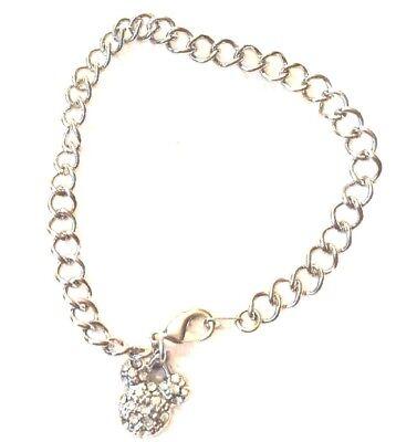 Disney Parks Charmed In The Park - Silver- Color Charm Bracelet