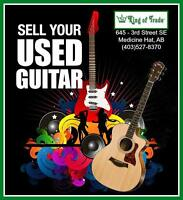 Sell Your Guitar TODAY at King of Trade!