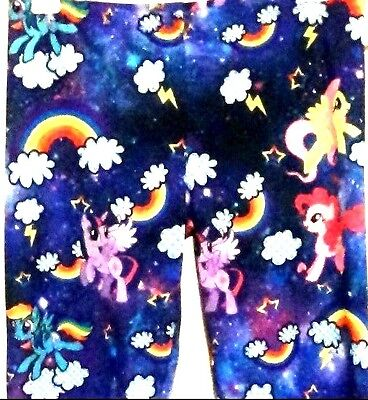 My Little Pony Leggings Stretch Pant Fluttershy Pinkie Pie Rainbow Dash - My Little Pony Leggings