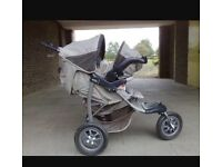 Mothercares urban Detor Pushchair
