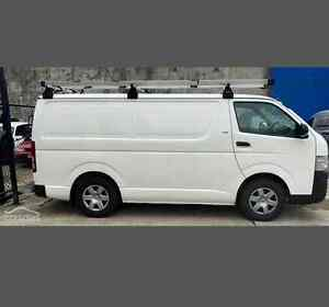 2010 Toyota Hiace Van with roof and ladder racks Varsity Lakes Gold Coast South Preview
