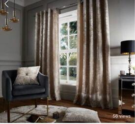 "Crushed velvet curtains 90-90"""