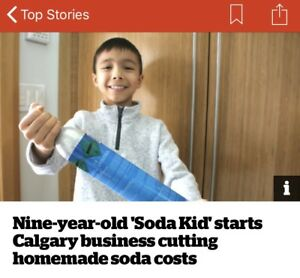Soda Kid Soda Stream Canister Exchange Service (Sodastream)