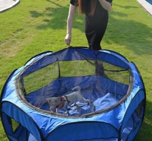 "Oxford 45"" Pet Dog Cat Playpen Tent Portable Cage 290010"