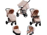 My Babiie Girls Travel system & Girls activity Walker