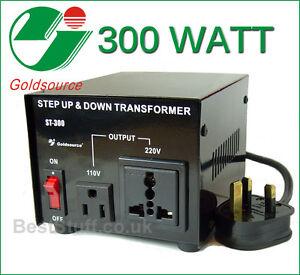 2000w Foreign Travel Voltage Converter Adapter Radioshack