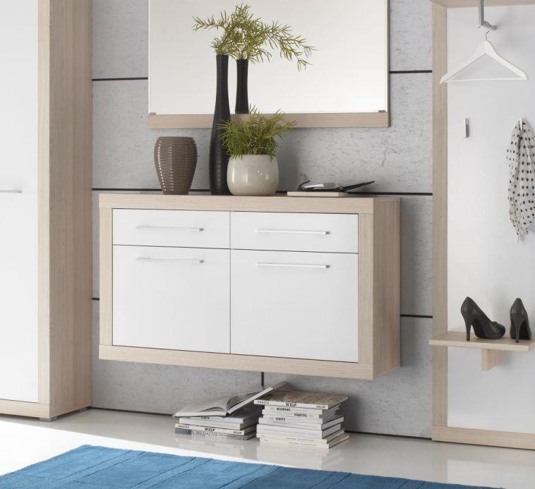 creda schuhschrank garderobenschrank flur diele garderobe. Black Bedroom Furniture Sets. Home Design Ideas