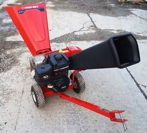 CHIPPER SHREDDER 10 HORSE POWER ALL USA MADE PRISTINE CONDITION