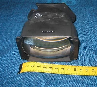 Objektiv  aus militärischem Nachtsichtgerät mit 3 dicken Linsen Zeiss/Wetzlar #2