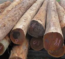 Ironbark round poles,use in playgrounds, houses, fences, gazebos, Kyabram Campaspe Area Preview