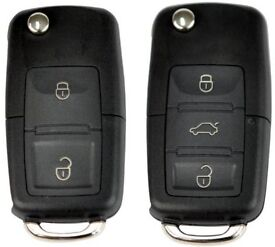 Skoda FABIA, OCTAVIA, ROOMSTER, SUPER B - Remote Car Key Fob Key Cut and programmed