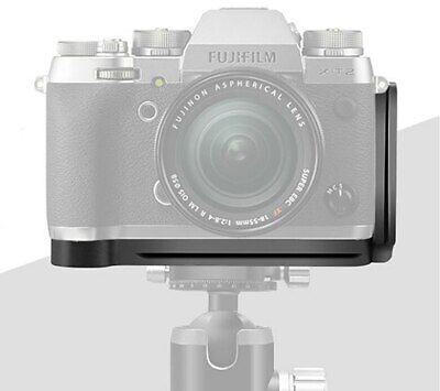 Quick Release L Plate Holder Hand Grip Bracket for Fuji Fujifilm Fuji X-T2 XT2