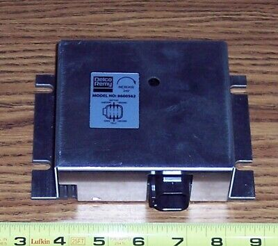 DELCO REMY 50DN Alternator Regulator with 6 pin plug P/N 8600562, 8600025 ~ NEW