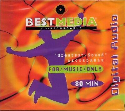 BestMedia Audio-CD Rohling 80 Minuten Neu & ovp
