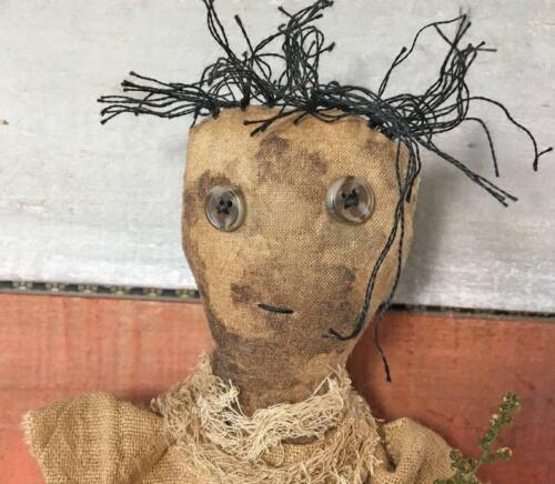 Extreme Primitive Ragamuffin Doll / Primitive Rag Doll / Farmhouse Decor