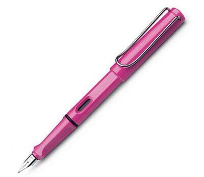 Lamy  Safari Special Edition Pink Fine Pt Fountain Pen New In Box L13F