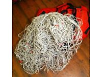 Football Nets - Full Size 11-a-side Goal Nets With Carry Bag