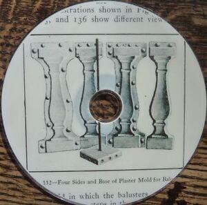 Vintage-book-HOW-TO-MAKE-CONCRETE-GARDEN-ORNAMENTS-Pedestal-Bench-Mould-1910-DVD