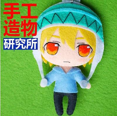 Japanese Anime Noragami Yukine Cosplay Costume Cute DIY Doll keychain Material (Diy Anime Costume)