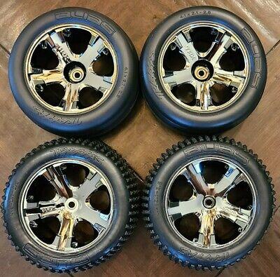 Traxxas Rustler Tires Wheels Alias All Star 2.8 VXL XL5 Rims 2wd Bandit Stampede