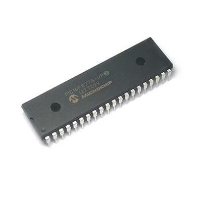 10pcs Ic Pic16f877a-ip Pic16f877a Microcontroller Dip40 New
