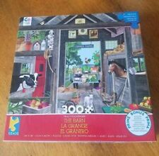 Ceaco 300 Piece Puzzle~Tracy Flickinger THE BARN~Bonus ...