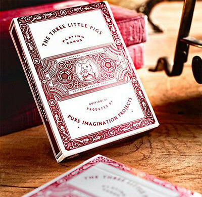 THE THREE LITTLE PIGS PLAYING CARDS BY PURE IMAGINATION PROJECTS BRAND NEW