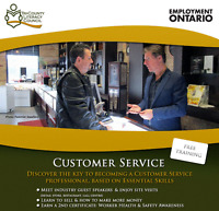 FREE Customer Service course for adults 19+