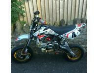 Supermoto Pit Bike 125cc; OO Racing Engine; Monster Moto Frame