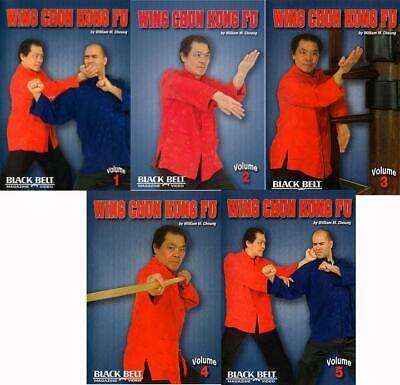 William Cheung's Wing Chun Kung Fu (5 DVD Set)