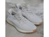868af7bd35877 Yeezy boost 350 v2 Sesame Adidas UK 9- New with tags