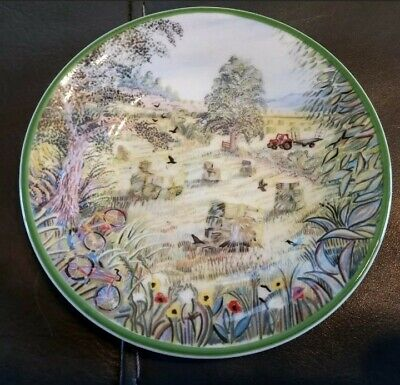 Hudson & Middleton Fine Bone China Plate A Year In The Country June