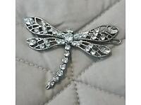 Beautiful dragonfly hairclip