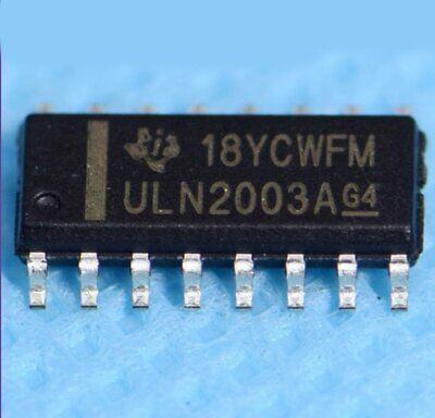 10pcs Uln2003adr Uln2003 Transistor Arrays Sop16 Driver Ic