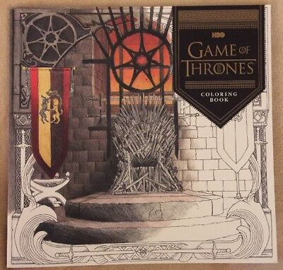 Hbo Game Of Thrones Got Winter Is Coming Coloring Book New  16