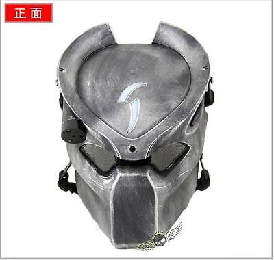 94d677f0f7b War Game Airsoft Paintball Strike Protection Predator Alien Hunter Lighting  Mask