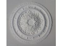Made to order plaster ceiling roses. 30-60cm