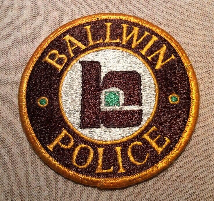 MO Baldwin Missouri Police Patch