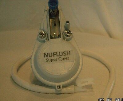 NUFLUSH, Smart Quiet Mini Pilot Toilet Fill Valve. For FAST Toilet Fill